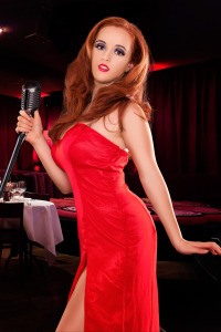 Dahna as Jessica Rabbit (After)