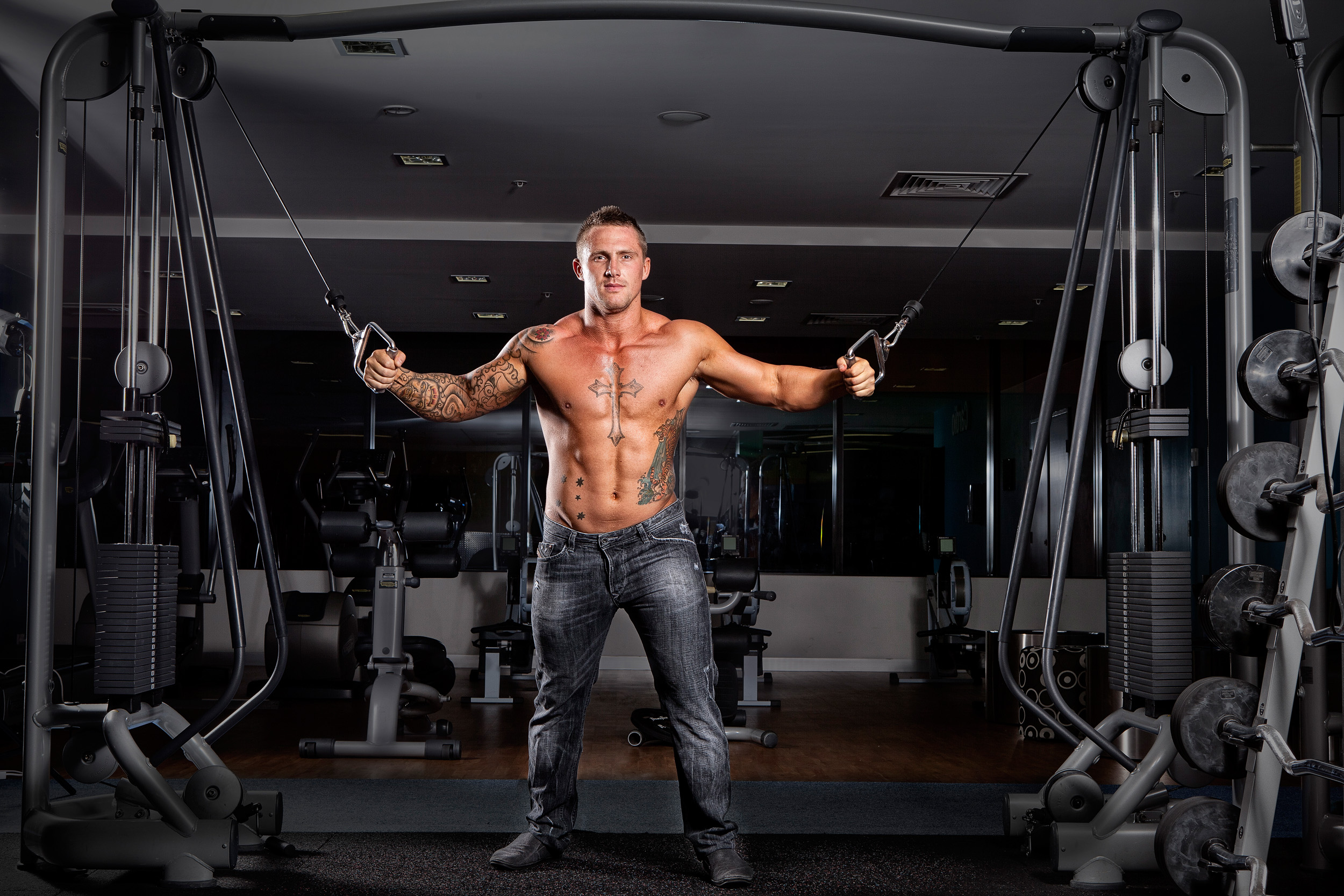 Gold Coast Gym Fitness Photography with Rob