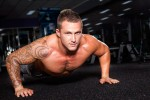 Rob Push Up Fitness Photography