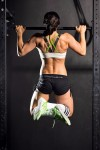 Emma performing pullups at Reebok Crossfit Centre Gold Coast